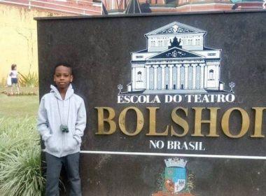 Baiano de 9 anos vai estudar no Bolshoi após arrecadar triplo da meta em vaquinha online
