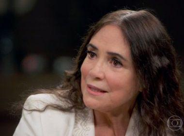 Após aceitar comandar a Cultura, Regina Duarte se preocupa com salário de R$ 15 mil