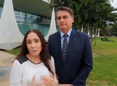 Regina deixa secretaria para comandar Cinemateca em SP; Bolsonaro nega fritura