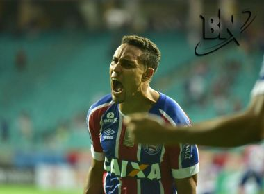 Em jogo de viradas e gritos de 'adeus' para Guto, Bahia goleia o Altos na Fonte