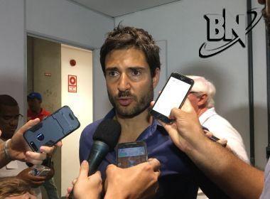 Diego Cerri fica satisfeito com postura do Bahia, mas pondera: 'Final está aberta'
