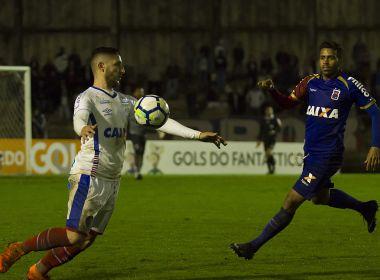 Bahia sucumbe diante do Paraná e acumula mais uma derrota como visitante