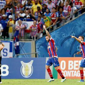 Veja o gol de Bahia 1 X 0 Corinthians