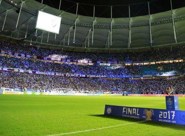 Final do Nordestão: CBF faz ajuste no horário da decisão entre Bahia e Sampaio