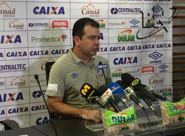 Enderson Moreira elogia time do Bahia e mostra otimismo para decisão em São Paulo