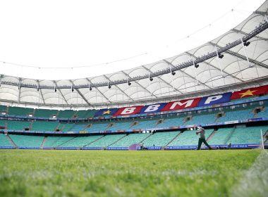 Com novo contrato, Bahia prevê grama sintética na Fonte Nova após Copa América