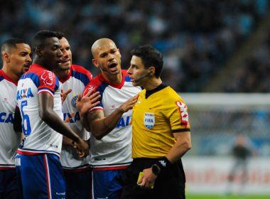 Em reunião na CBF, diretoria do Bahia entra com representação contra Rodolpho Toski