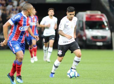Bahia luta, mas acaba derrotado pelo Corinthians no Itaquerão