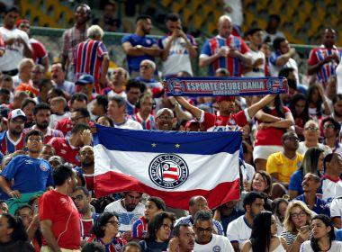 Mais de 20 mil ingressos vendidos para Bahia x Cruzeiro