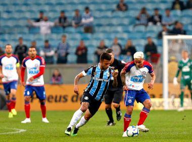 Artur elogia atuação do Bahia e valoriza empate: 'Bom demais'