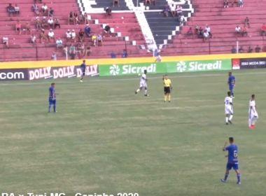 Bahia empata com o Tupi na estreia da Copa São Paulo de Futebol Júnior