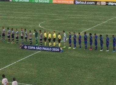 Bahia supera o XV de Piracicaba e consegue primeiro triunfo na Copinha