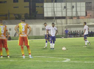 Bahia empata com a Juazeirense na estreia do Campeonato Baiano