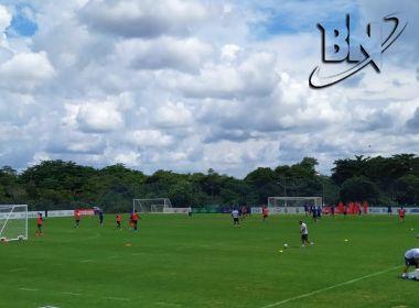 Bahia finaliza preparação para enfrentar o Confiança