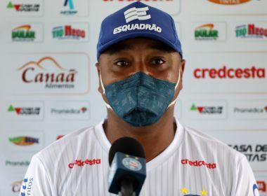 Roger aprova retorno do Bahia e faz elogios a Élber: 'Vive um grande momento'