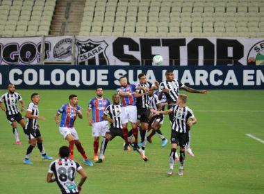 Bahia sucumbe diante do Ceará e amarga primeira derrota no Brasileirão