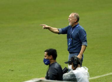 Feliz com atuação do Bahia, Mano projeta reviravolta da equipe na temporada