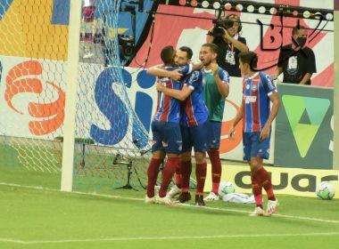 Bahia supera o Fortaleza e dá salto na tabela do Brasileirão
