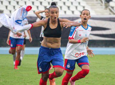 Feminino A-2: Bahia arranca empate com o Botafogo no Nilton Santos