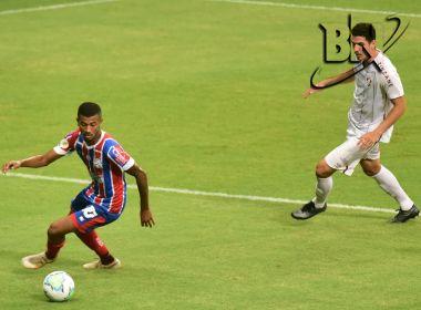 Com desempenho apagado, Bahia perde para o Fluminense na Arena Fonte Nova