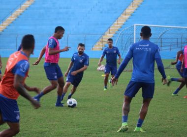 Com expectativas sobre atuação, time de transição do Bahia estreia na Copa do Nordeste