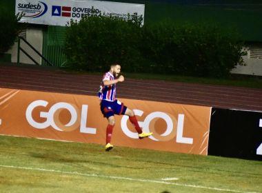 Patrick marca primeiro gol pelo time principal do Bahia, mas esperava melhor resultado