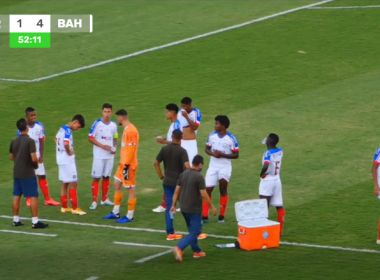Bahia goleia a Perilima e passa na Copa do Brasil sub-20; jogo foi interrompido