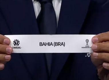 Bahia encara Independiente, Guabirá e um uruguaio na 1ª fase da Sul-Americana