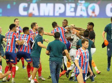 STJD pune jogadores de Bahia e Ceará por briga no Castelão; clubes recebem multa