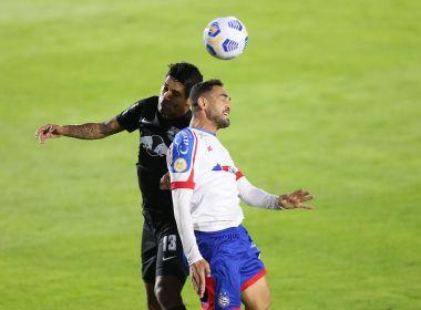 Em jogo de seis gols, Bahia empata fora de casa com o Red Bull Bragantino