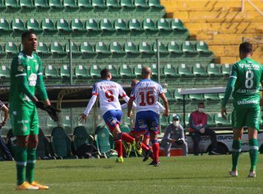 Com gols de Gilberto e Rodriguinho, Bahia supera a Chape na Arena Condá