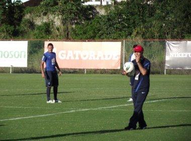 Mais um treino com bola marcou manhã tricolor