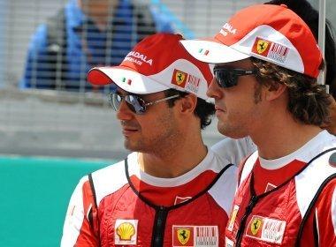 Ferrari cobra Massa publicamente e faz comparação com Alonso