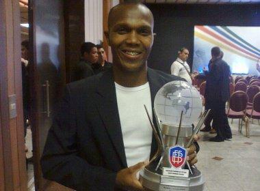Premiados no Troféu Armando Oliveira, jogadores do Feirense exaltam terceira colocação