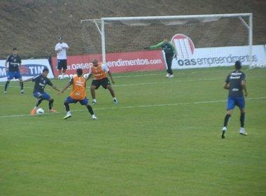 Luxemburgo comanda último treino antes de pegar o Bahia