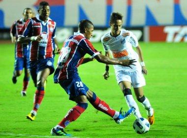 Para duelo diante do Bahia, Santos poupa titulares e aposta em reforços