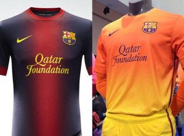 Barcelona divulga novos uniformes para a temporada 2012-13