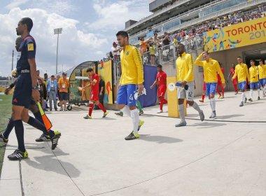 e77c9f71f6 Pan de Toronto  Brasil bate Panamá e conquista bronze no futebol masculino