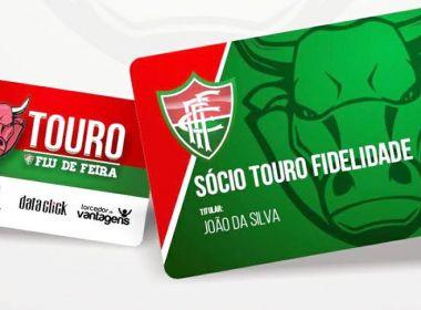 Fluminense de Feira lança programa de sócios-torcedores com cadastro online 032a76f3d171e