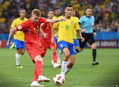 Brasil perde muitas chances, sofre gol contra no início e é eliminado pela Bélgica