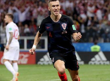Na prorrogação, Croácia bate a Inglaterra e chega pela primeira vez à final da Copa