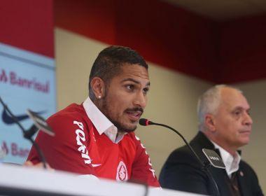 Justiça suíça revoga efeito suspensivo e Guerrero não joga mais em 2018