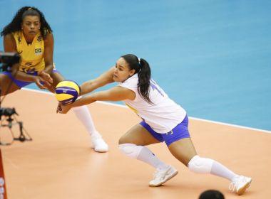 Brasil é dominado pela Sérvia e perde a primeira no Mundial de Vôlei Feminino