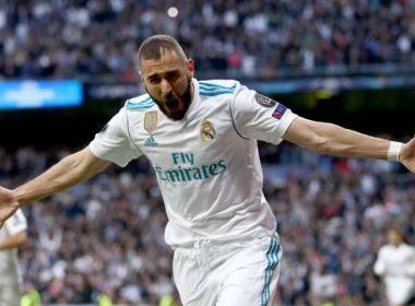 Real Madrid recebe proposta de R$ 219 milhões por Benzema