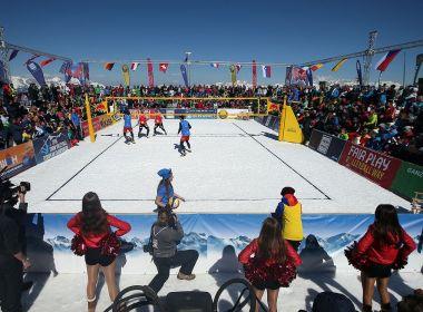 Brasil terá representantes em torneio de vôlei na neve pela primeira vez