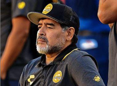 Maradona é internado em Buenos Aires com sangramento estomacal