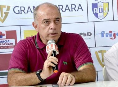 Carlos Rabello fica satisfeito com desempenho do Jequié na vitória sobre  Jacobina e88e6c5b0af0d