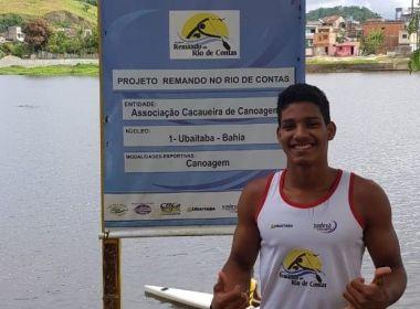 Canoísta baiano, de 16 anos, é convocado para seleção brasileira