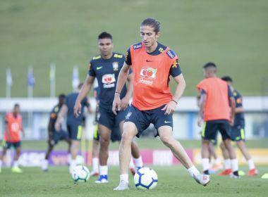Tite comanda primeiro treino da Seleção Brasileira para a Copa América
