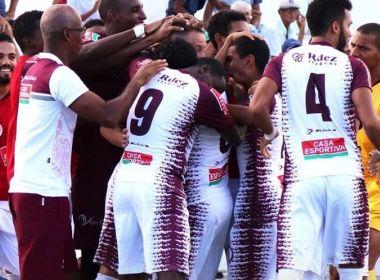 Jacuipense goleia o Vitória-PE e se classifica para a próxima fase da Série D